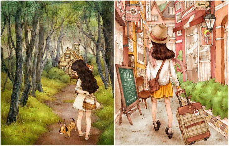 30 magnificent illustrations which you will definitely fall in love with