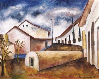 Paisaje de Patzcuaro By Maria Izquierdo ,1947