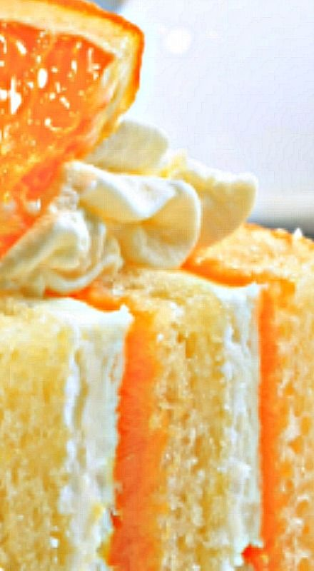 The Chew: Carla Hall's Triple Orange Cake Recipe with Orange Juice