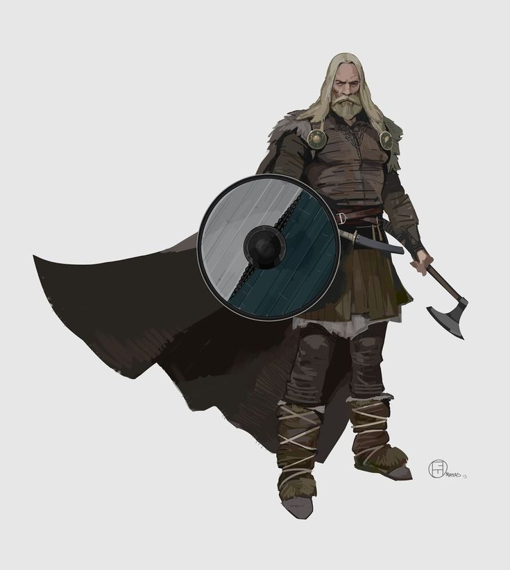 Brian Matyas' Art Blog: Vikings