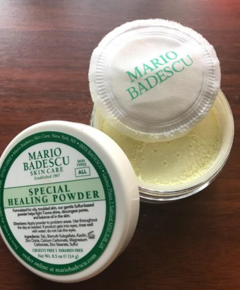 A Sulfur Based Healing Powder That Not Only Helps Absorb Oil Cover Breakouts And Conceal Redness But Also Helps To Heal Blemishes Oily Skin Skin Care