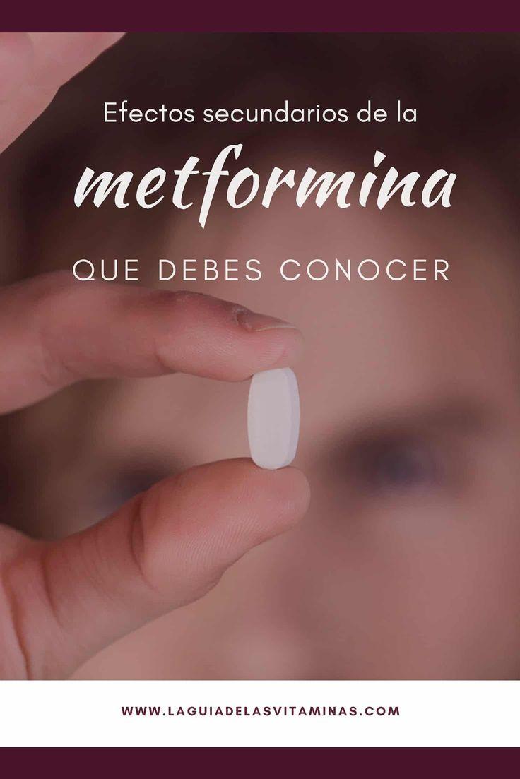 Efectos secundarios de la metformina: que debes conocer - La Guía de las Vitaminas