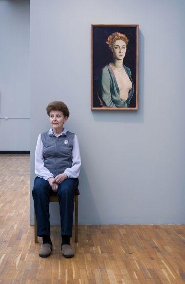Nathan Altman's Portrait of I.P. Degas, State Tretyakov Gallery, 2008 Archival pigment print