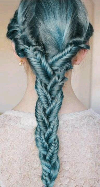 Love the color & braid