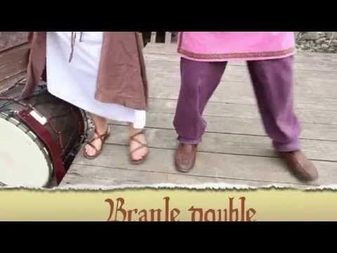 INITIATION DANSE MÉDIÉVALE - YouTube