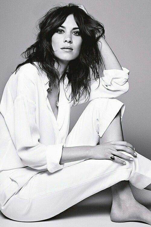 .Fashion, Alexa Chung Editorial, Uk July, July 2014, Style, Derek Kettela, White Shirts, Beautiful, Glamour Uk