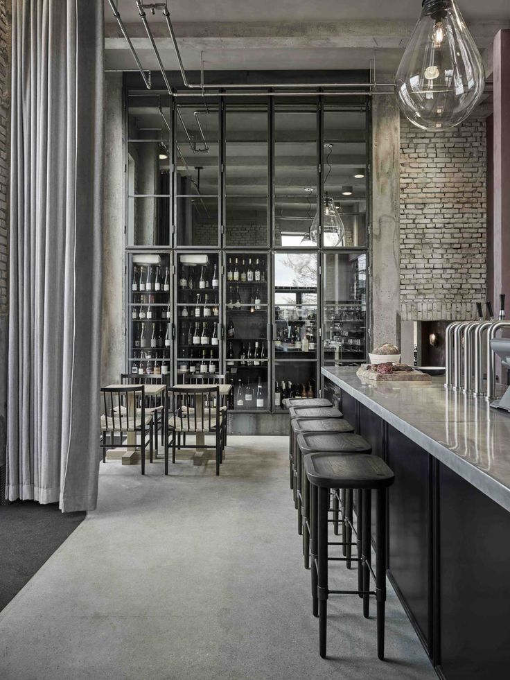 Rene Redzepiu0027s 108 Restaurant By SPACE Copenhagen. Bar SeatingCafe  DesignInterior ...