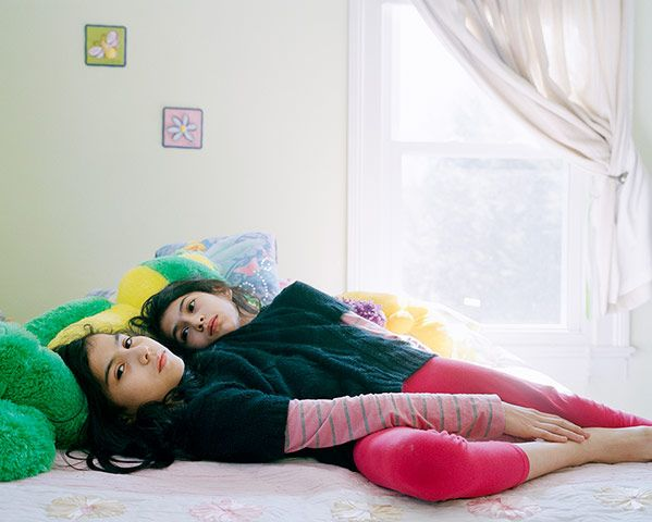 "When it was suggested that conjoined twins Lupita and Carmen Andrade could be separated, the 12-year-old girls were devastated. ""Why would you want to cut us in half?"" they asked their mother. Later, it was discovered separation was impossible because they share too many vital organs and their lower spine.. . When asked if they were best friends, Carmen replied, ""No, we're sisters,"". ""But are you also friends?"" ""We're sisters,"" Lupita replied adamantly. ""Just sisters."""