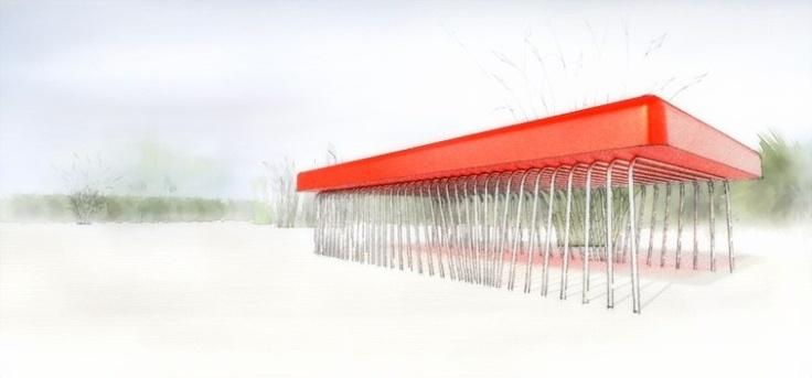 Table design rendering - unrealviz