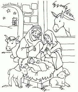Christmas coloring pages / para colorir: Natal!