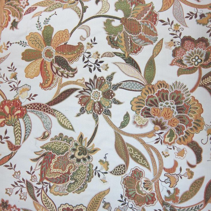 Jacobean Fabric From Rodeo Home Fabric Fabric Decor