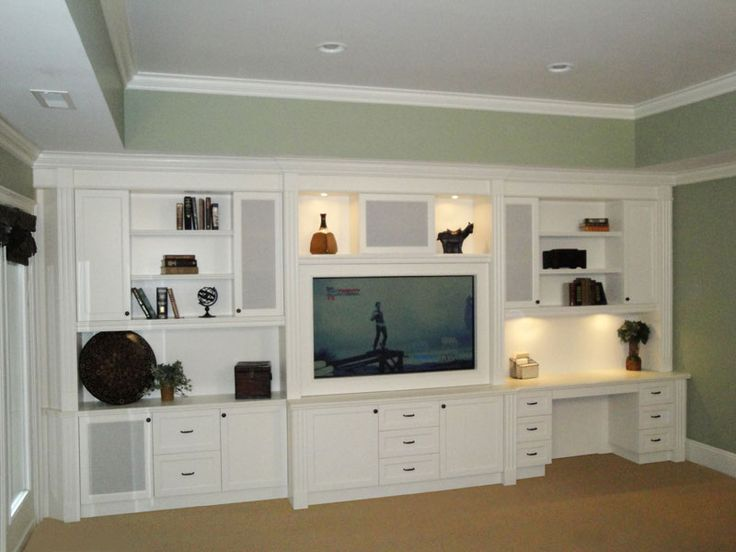 Built In Entertainment Centers