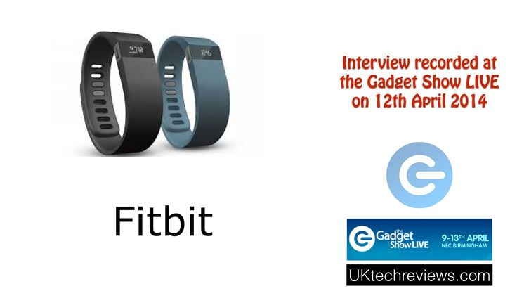 Gadget Show Live 2014 - Interview with Fitbit