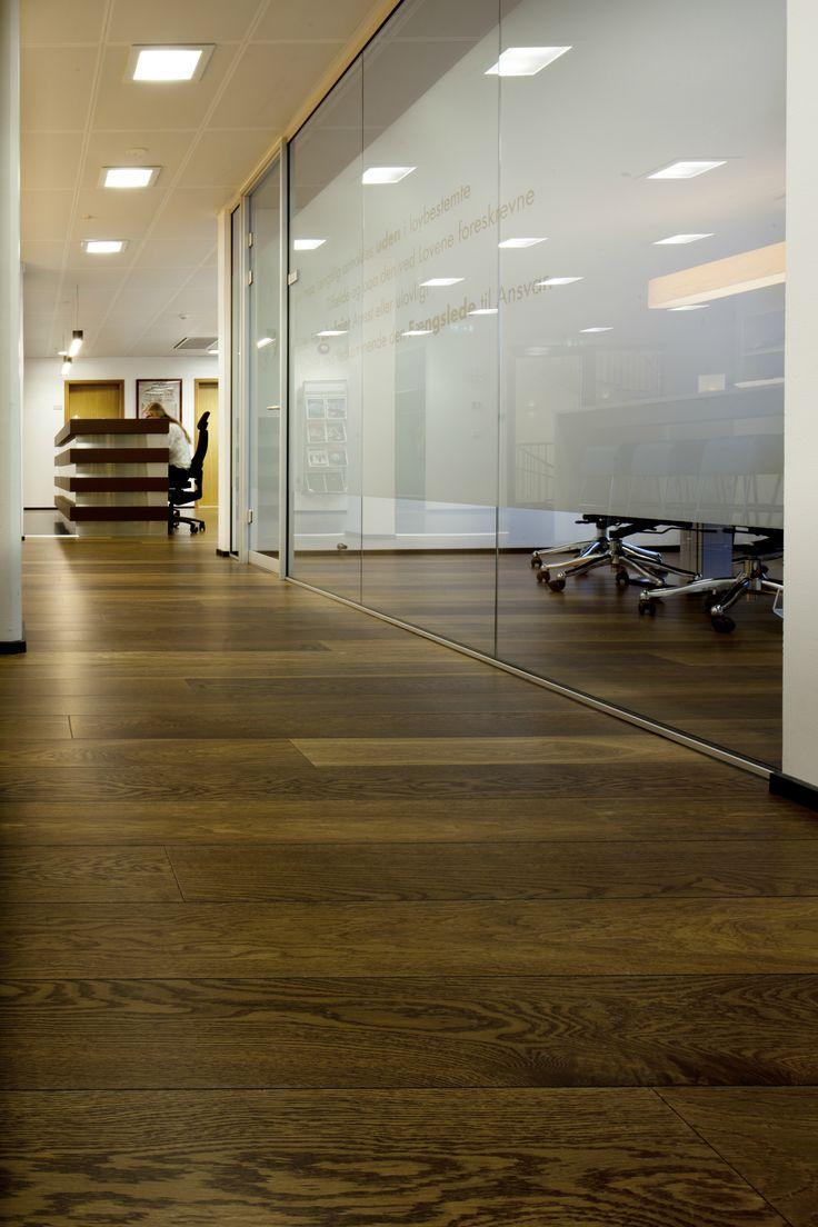 Hakwood Flooring - European Oak - Triple smoked & Deep smoked, Unfinished - Nina Sperling - Ingeborg Werenskjold - Bitten Andersson Wilson - Oslo, Norway