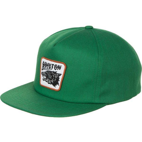 Brixton Tex Snapback Hat ($28) ❤ liked on Polyvore featuring accessories, hats, brixton, brixton snapback, brixton hats, snapback hats and snap back hats