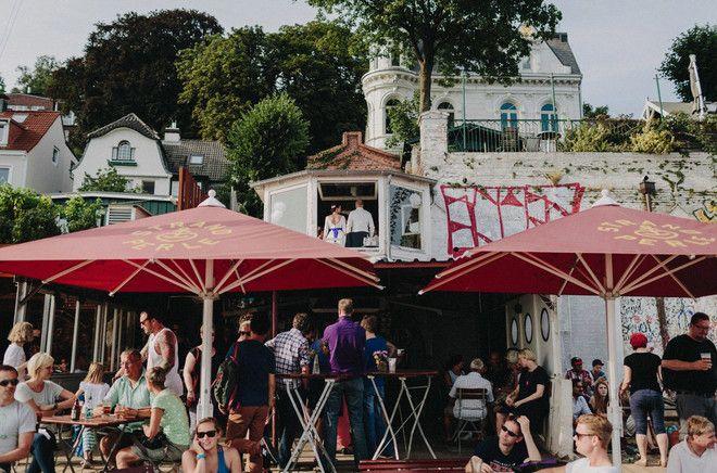 noni- Hochzeit und Trauung in der Strandperle in Hamburg (www.noni-mode.de - Foto: Hafenliebe Hochzeitsfotografie)