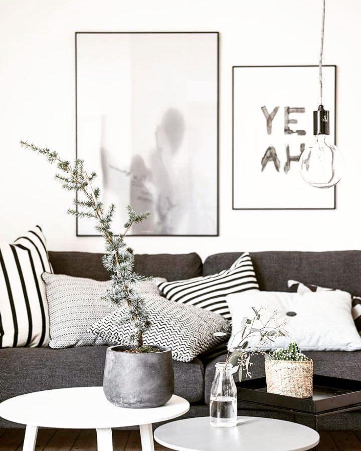 Black and white interior inspiration
