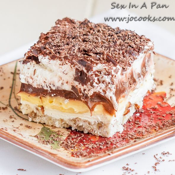 sex-in-a-pan ~ Perfect delicious dessert it's a must for any holiday!