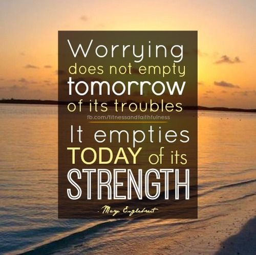 Image result for worry empties
