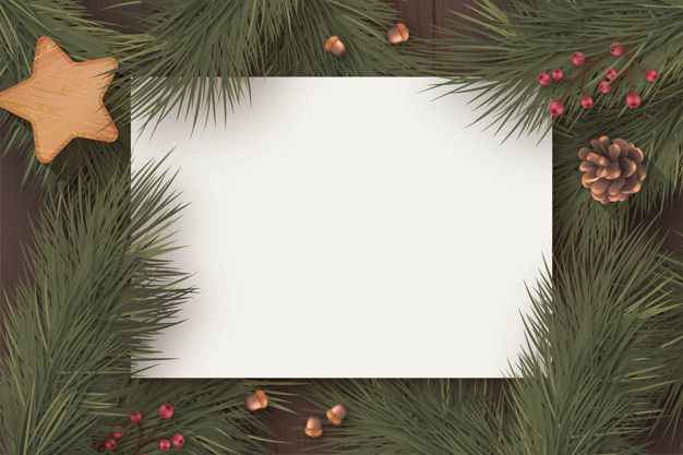 Download Christmas Blank Card Template With Winter Nature For Free Christmas Card Template Christmas Card Templates Free Xmas Card Template