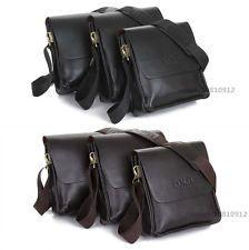 Fashion Men's Genuine Leather Shoulder Bag Messanger Briefcases bag