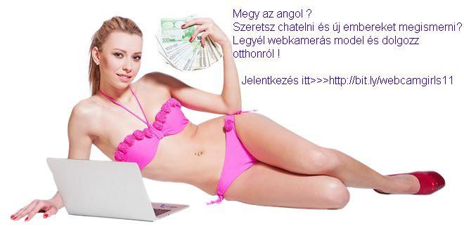 Otthonról dolgozhatsz, teljesen legálisan webkamerás modellként ! A #webkamerás #modell #munka könnyű, egyszerű és egy nagyon jól fizető erotikus munka világszerte. Kattints a hírdetésre !