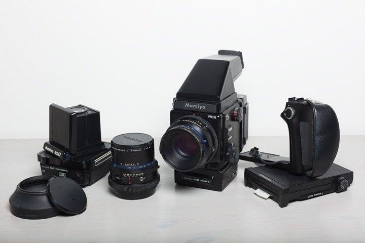 Mamiya RZ67 Pro II Medium Format Camera kit with 110mm 90mm