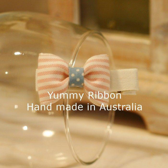 yummy ribbon handmade cute girls bow