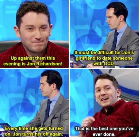 "When Jon was so impressed that he couldn't be mad. | 34 Times ""8 Out Of 10 Cats Does Countdown"" Was Almost Too Funny"
