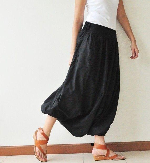 Harem pants + sandals