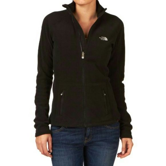 North Face Women's Fleece zip up jacket Sz M, older style, gently loved. No rips, smells, stains. Zips smooth. North Face Jackets & Coats