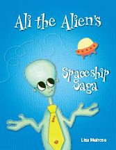 Today was a special day for Ali the shy Alien. His flying machine was ready to go for its first test flight, but he quickly realises his flying machine is missing.  Ali is an inspiration to many as he learns to overcome his shyness and demonstrates how to let go of his fears and ask for help.