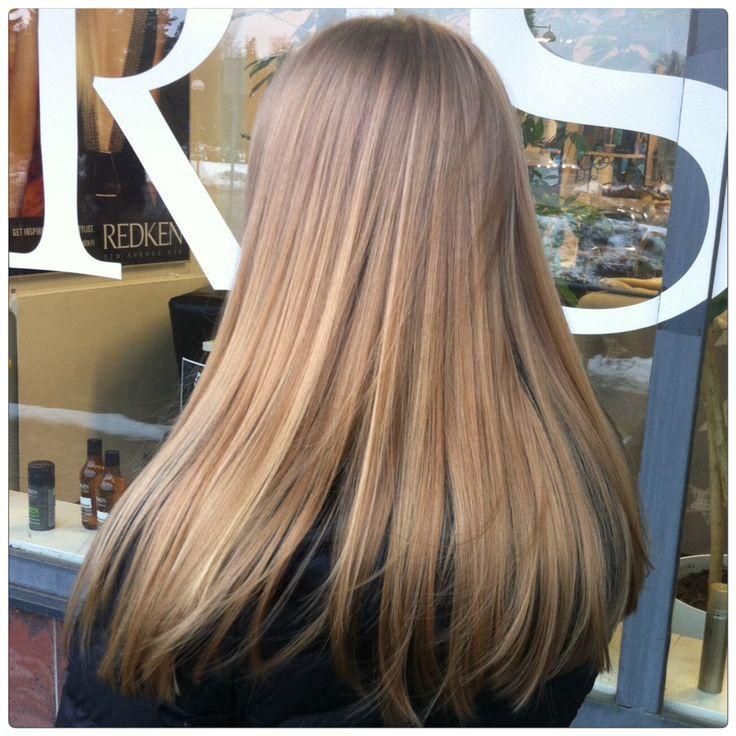 Light brown caramel hair - vaaleanruskeat hiukset #glossing #kiiltokäsittely
