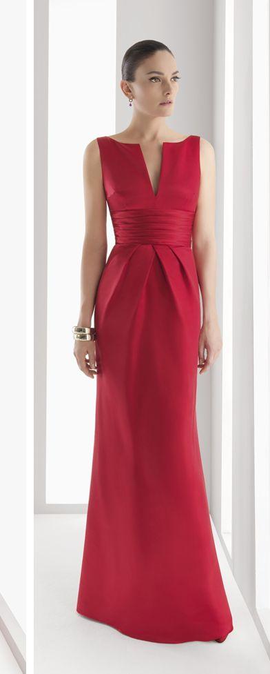 Patrón gratis: vestido de fiesta Rosa Clará (tallas 36-56)
