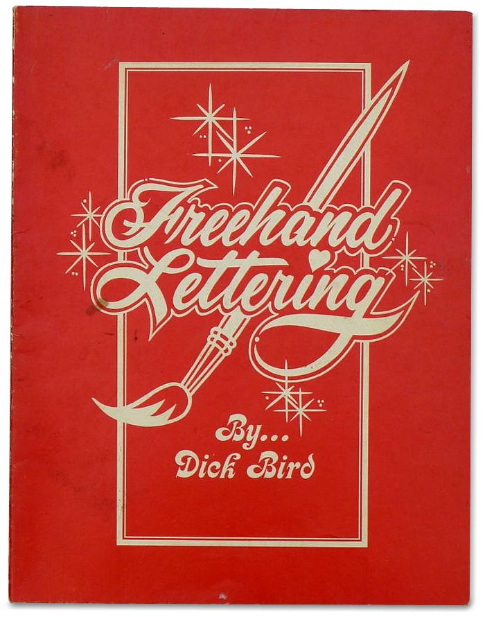 58 best sign painting books images on pinterest sign painting sign lettering books freehand lettering by dick bird malvernweather Gallery