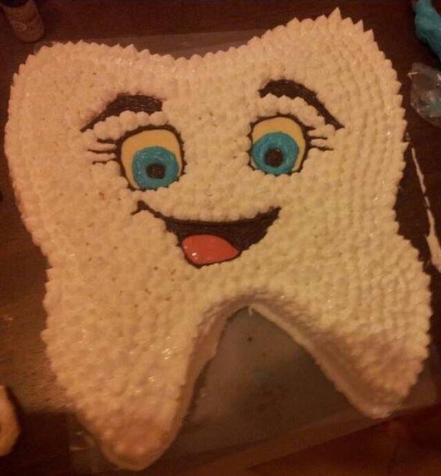 cake tooth dentist
