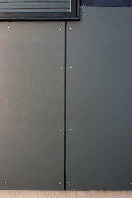 "rain screen hardie panel fiber cement ""iron gray"" siding"