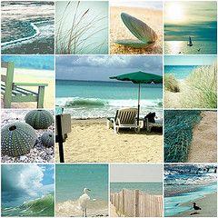 Love the beach...Summer Picnic, Beach Colors, Beach House, Company Picnics, The Ocean, At The Beach, Colors Palettes, Beach Time, Beach Life