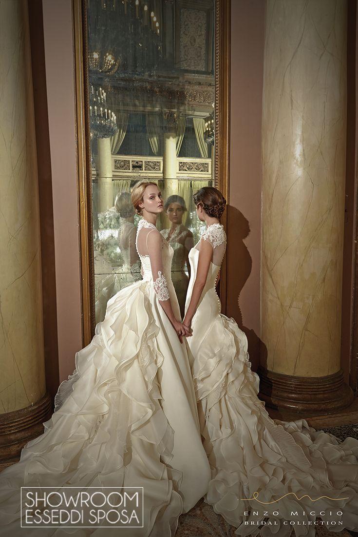 Collezione Abiti da sposa Enzo Miccio Bridal. Disponibile presso Showroom Esseddi Sposa. Visita il sito: www.esseddisposa.it/