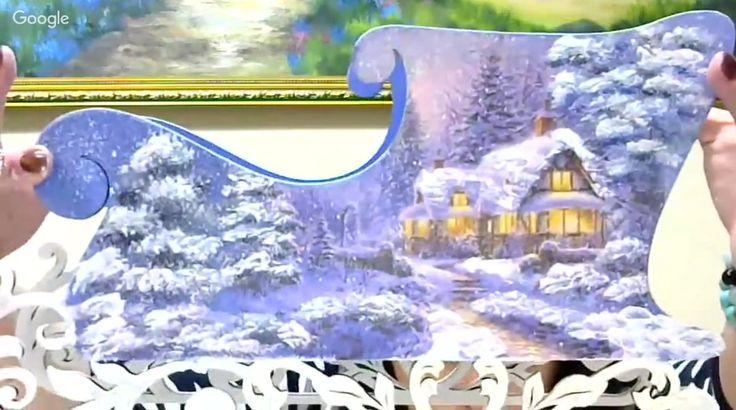 """Что делать, когда нужно быстро создать эффектное украшение новогоднего стола? Смотреть вебинар Валентины Суховой """"Новогодние саночки""""! Здесь вы увидите как работать с распечаткой, делать подрисовку и имитировать снежок. Запись доступна по ссылочке: http://webinar.newdirections.ru/12994/room/890/  А среди платных предложений сегодня тоже много интересного: декупаж новогодней """"фонарика"""", работа с деревом, имитация окисленных металлов, 3d декупаж на домике и эффектные декупажные тарелочки…"""