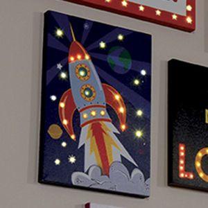 Rocket LED Canvas
