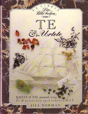"""""""Den lille boken om te og urtete"""" av Jill Norman"""