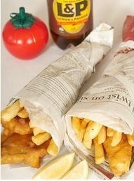 Fish 'n'chips, Watties tomato sauce & Lemon & Paeroa...what more can I say