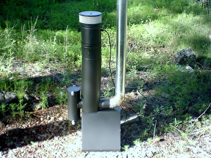 Camper model rocket stoves and mass heaters pinterest for Small rocket heater