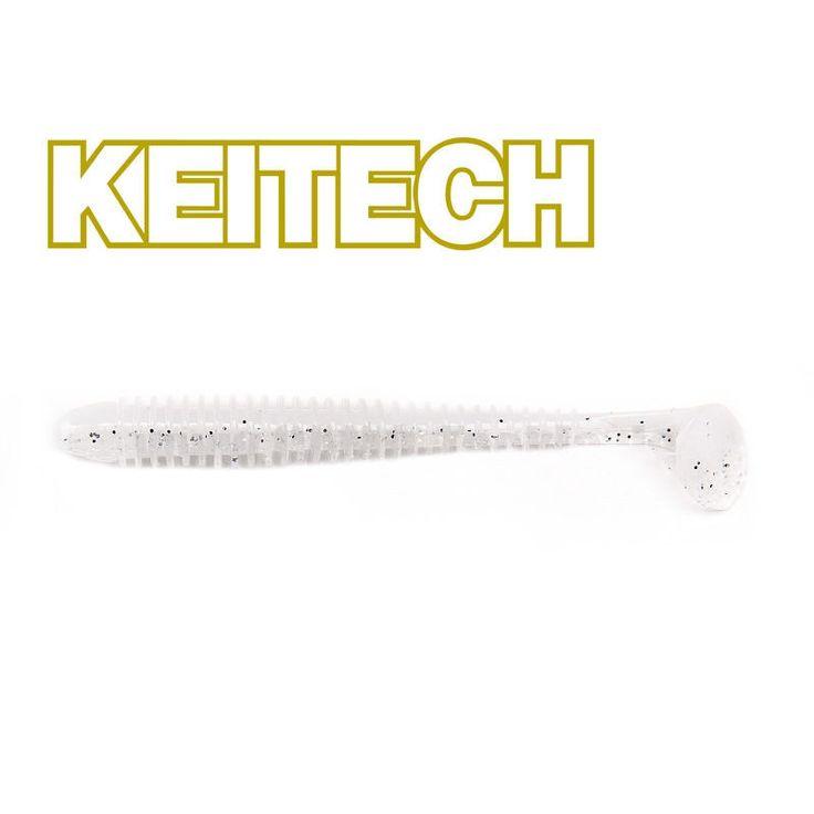 "Keitech Swing Impact 3"" Pearl White"
