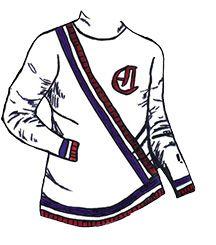 1911-1912  Les bandes de couleurs autour de la taille et des poignets seront un élément précurseur de l'uniforme des temps modernes des Canadiens De Montréal. Les joueurs arborent un numéro au bras gauche seulement. Go Habs Go !!
