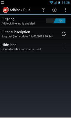 AndroidWorld: Adblock Plus v1.2.1.331 APK