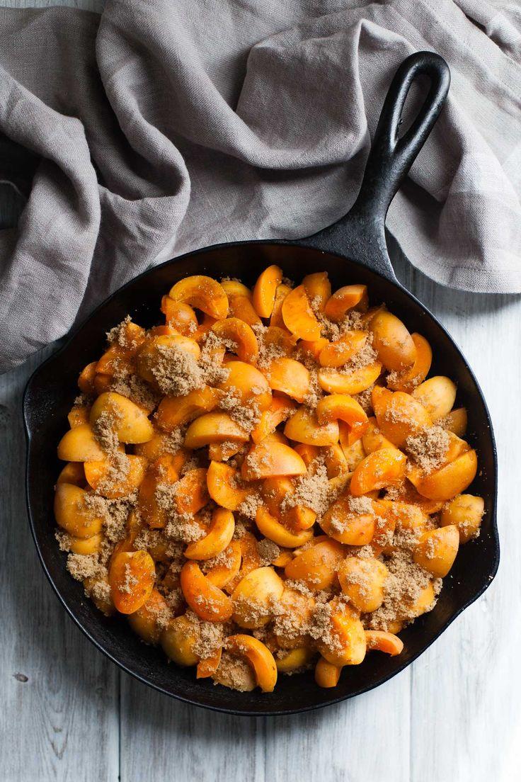 Gluten-Free Apricot Cobbler with Buttermilk Biscuits - Snixy Kitchen - Snixy Kitchen