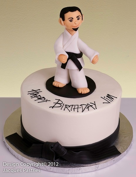 Karate Cake Decorating Ideas