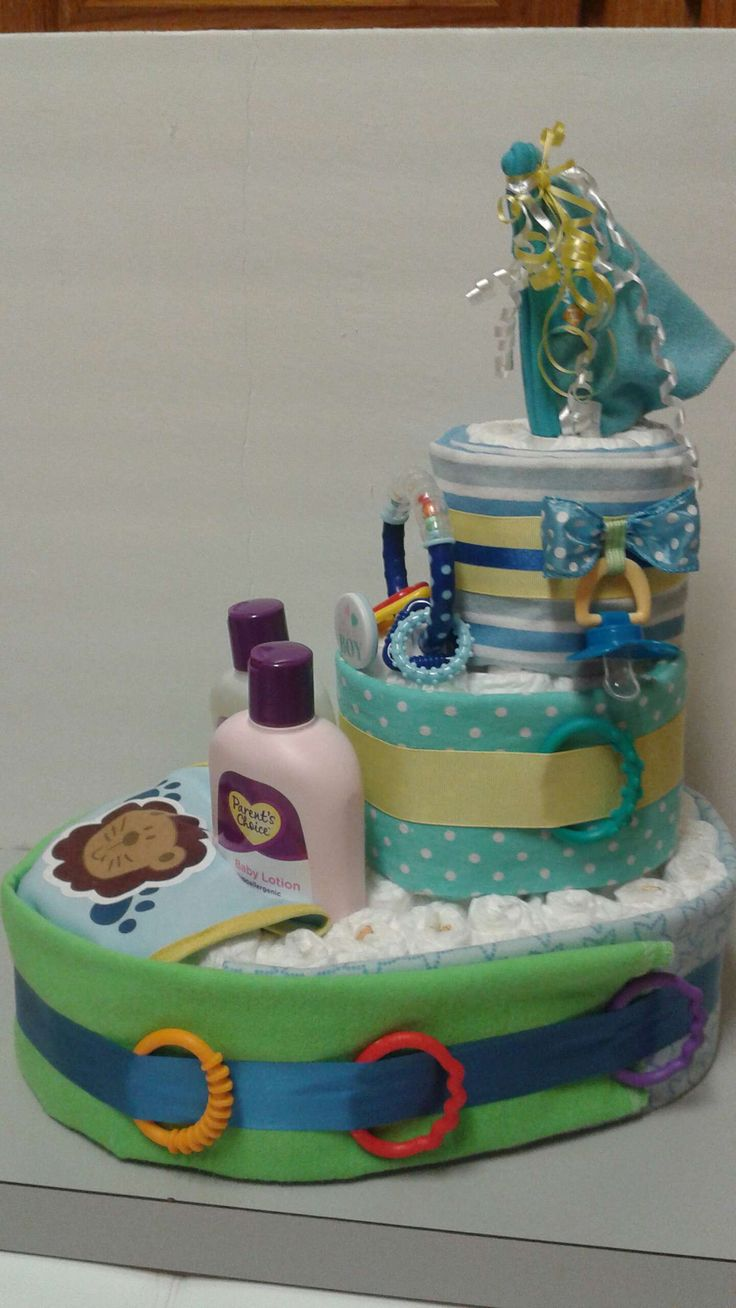 Check out my mobile marketplace on the #5milesapp! - I'm selling a Boat Diaper Cake for $45.00.